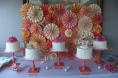 cake-buffet-with-orange-fans