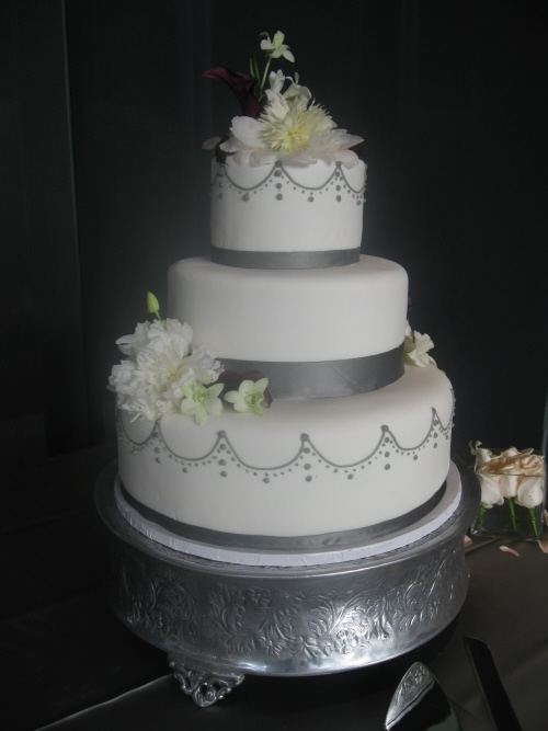 Wedding Cakes Fondant San Diego Bakeries Twiggs San