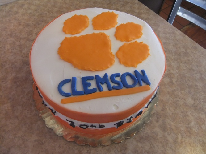 A Naval Commission Two Kids Birthdays And A Clemson Cake San